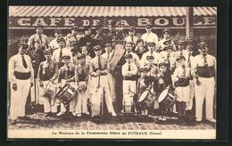 CPA Puteaux, La Musique De La Commune Libre - Puteaux