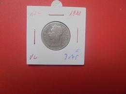 Congo Belge 50 Centimes 1921 VL (A.12) - Congo (Belga) & Ruanda-Urundi