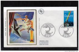 FDC  - 3113 - La Qualité - 1990-1999