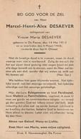 De Panne, 1946, Marcel Desaever, - Images Religieuses