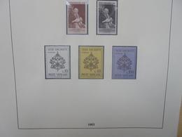 "VATICAN 1963-1984 TRES BEL ALBUM ""LINDNER"" (2697) 2 KILOS 200 - Collections"