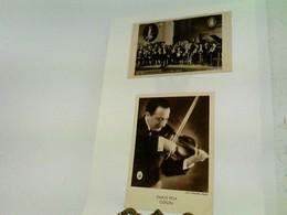 2 Ansichtskarten/Künstlerfotos - S/W: 1) Der Rhythmus Der Hunderttausend - Dajos Bela Mit Seinem Tanzorchester - Zonder Classificatie