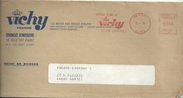 Ema Havas T - Cure Thermale - Vichy - Enveloppe Entière - EMA (Printer Machine)