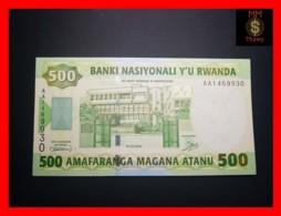RWANDA 500 Francs 1.7.2004 P. 30  UNC - Rwanda