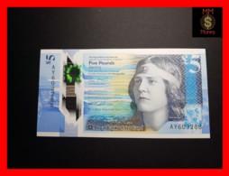 SCOTLAND 5 £  11.2.2016  P. 370 POLYMER RBS   UNC - Schotland