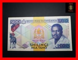 TANZANIA 500 Shilingi 1989 P. 21 C  VF++ - Tanzanie