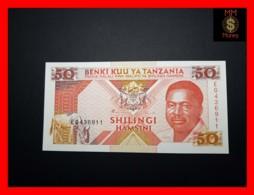 TANZANIA 50 Shilingi 1993 P. 23   UNC - Tanzanie