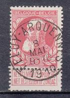 BELGIË - OPB - 1905 - Nr 74 T1L (FELUY - ARGUENNES) + COBA 4 € - 1905 Barbas Largas