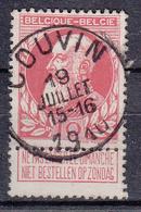 BELGIË - OPB - 1905 - Nr 74 T1L (COUVIN) + COBA 2 € - 1905 Thick Beard