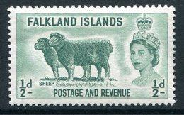 Falkland Islands 1955-57 QEII Pictorials - ½d Sheep MNH (SG 187) - Falkland