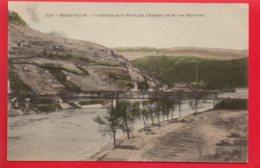 BESANCON - Le Doubs Et Le Pont De Chemin De Fer De Morteau - Besancon