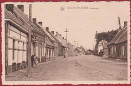 St-Joris-ten-Distel Dorpstraat Geanimeerd Kindje Enfant Sint-Joris-Ten Distel Beernem (In Zeer Goede Staat) - Beernem