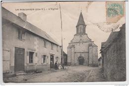 LA PORCHERIE L'EGLISE 1906 - Andere Gemeenten