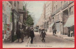 668 - BESANCON - Rue De La Préfecture - Colorisée Et Tramway - Besancon