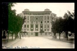MAROC - CASABLANCA - IMMEUBLE AU PARC LYAUTEY - CARTE PHOTO ORIGINALE - Casablanca