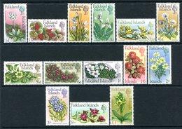 Falkland Islands 1968 Flowers Complete Set MNH (SG 232-245) - Falkland Islands