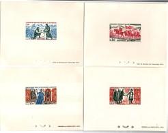 Série Historique 1963 1964 - épreuve De Luxe Andorre - Charlemagne Napoléon Roi Louis Parface - French Andorra