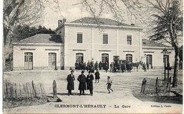 CLERMONT L' HERAULT - La Gare  (804 ASO) - Clermont L'Hérault