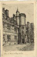 Gravure Paris Le Musée De Cluny La Cour RV - District 05
