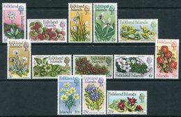 Falkland Islands 1971 Flowers - Decimal Currency Set MNH (SG 276-288) - Falkland Islands