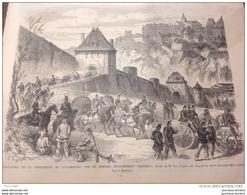 1867 FORTERESSE DE LUXEMBOURG - EXPOSITION UNIVERSELLE - FERME CHAMP DE MARS - HAMMERFEST NORVÈGE - CRÊTE PANOS KORONÉOS - Newspapers