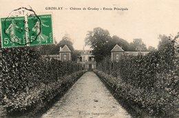 Groslay -   Château  De  Groslay -   Entrée. - Groslay