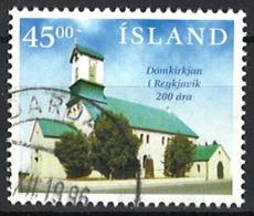 Iceland Island 1996. Mi 859 Used O - 1944-... Repubblica