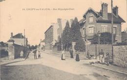 60 - CREPY EN VALOIS / RUE HIPPOLYTE CLAIR - Crepy En Valois