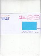 ITALIA  2012 - Cassa Edile Veneta Artigiana - Marghera - Marcophilie - EMA (Empreintes Machines)