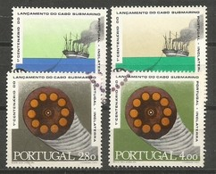 Portugal Afinsa 1083/86 Complete Set Used 1970 - Gebraucht