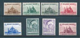 Belgique Timbres De 1938  N°471 A 477A Neufs ** Gomme Parfaite Cote 62,50€ - Nuevos