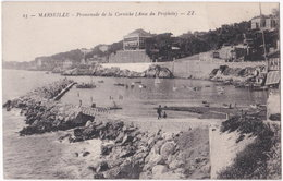 13. MARSEILLE. Promenade De La Corniche (Anse Du Prophète). 23 - Endoume, Roucas, Corniche, Strände
