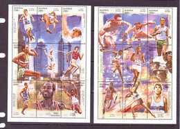 OUGANDA-UGANDA  1997 JO  YVERT N°1475/92 NEUF MNH** - Summer 1996: Atlanta