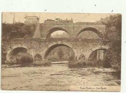 Trois- Ponts - Les Ponte - Trein ( 2 Scans) - Trois-Ponts