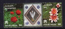 Europa Cept 1999 Vatican City Strip 2v+label ** Mnh (47552F) Promotion - 1999