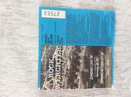 Rock Werchter. 02 Juli 1989 - Biglietti Per Concerti