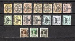 Vaticano  1931-68  .-   Y&T  Nº   10-12/13   Colis,   7/12-13/18-19/20   Taxa - Postage Due