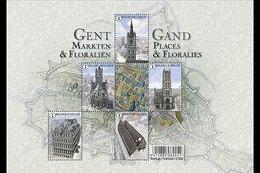 Belgique België 4553/57 Floralies Gantoises - Pflanzen Und Botanik