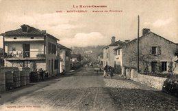 16342    MONTREJEAU   AVENUE DE POLIGNAN - Montréjeau