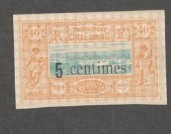 FRENCH SOMALI COAST....1902:Yvert28 Mh* Cat.Value11Euros - Neufs