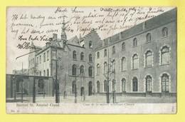 * Gent - Gand (Oost Vlaanderen) * (nr 21 - 3731) Institut Saint Amand, Cour De La Section Inférieure Classes, école - Gent