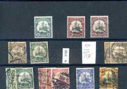 Deutsches Reich Kolonien, X, O, Ostafrika, Lot Von Diversen Marken - Neufs