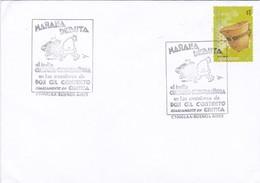 MAÑANA DEBUTA EL INDIO CURUGUA  CURIGUAGUIGUA-SPECIAL COVER CIRCA 2000s BUENOS AIRES, ARGENTINE. STAMP GRUPO MBYA-BLEUP - Storia Postale