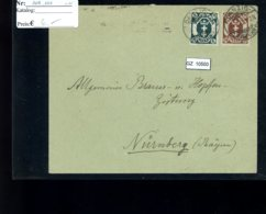 Deutsches Reich, Danzig 108, 111 Auf Bedarfsbrief - Allemagne