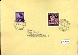 DR, Böhmen Und Mähren, Brief Mit Mi 93 Und Mi 113 - Bohême & Moravie