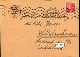 DR, Böhmen Und Mähren, Brief Mit Mi 96 - Bohême & Moravie