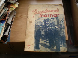 Jugoslovenski Mornar Yugoslav Sailor Navy  1947 - Bücher, Zeitschriften, Comics