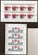 (Fb).Monaco.1998/99.Due Minifogli Nuovi,gomma Integra,MNH (63-20) - Blocchi