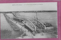 SENEGAL Le Pont Faidherbe Et L Ancien Pont De Bateaux - Senegal