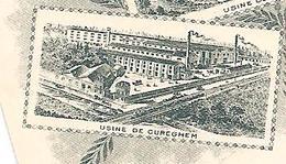 Anderlecht-Cureghem. Usine De Cureghem Tannerie & Maquinerie Belges - Anderlecht